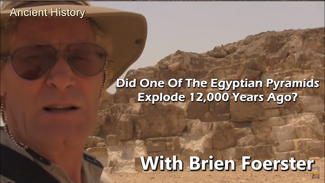 Did One Of The Egyptian Pyramids Explode 12,000 Years Ago