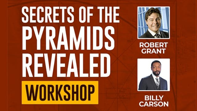 Secrets Of The Pyramids Revealed Workshop - Part 1