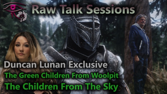 Raw Talk Session Sessions - S2:E1 - Duncan Lunan The Children From The Sky