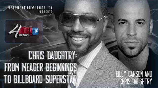4biddenknowledge Podcast - Billy Carson & Chris Daughtry
