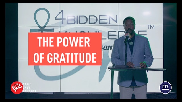The Power of Gratitude - Billy Carson at Dame Dash Studios -