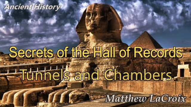 Secret tunnels and chambers under the Great Pyramid and Sphinx