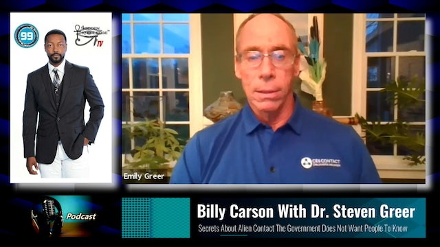 Billy Carson With Dr. Steven Greer