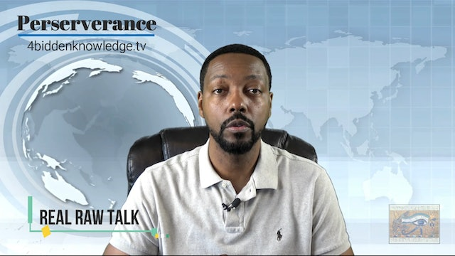 Real Raw Talk - Perserverance - With Billy Carson EP1