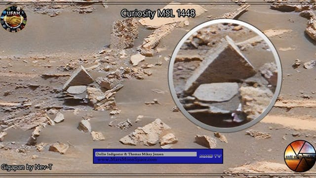 Ancient Mars Anomalies Captured By Cu...
