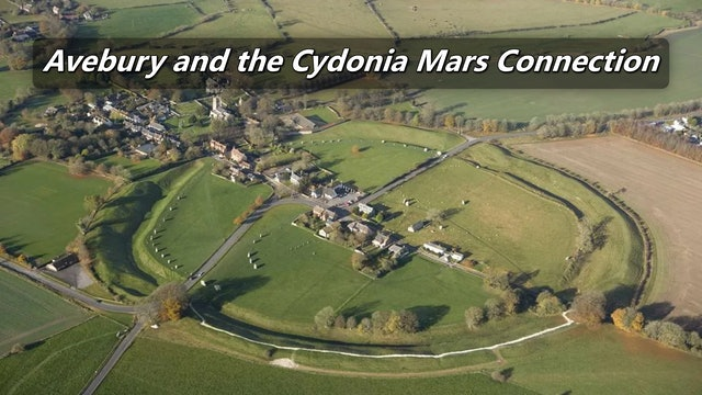 Avebury UK and the Cydonia Mars connection