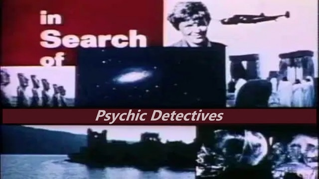 In Searh of... Psychic Detectives