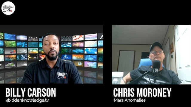 Google Hangout Chris Moroney  Of Mars Anomalies with  Guest Billy Carson