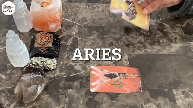 Aries Co-Creating More Ease & Grace.