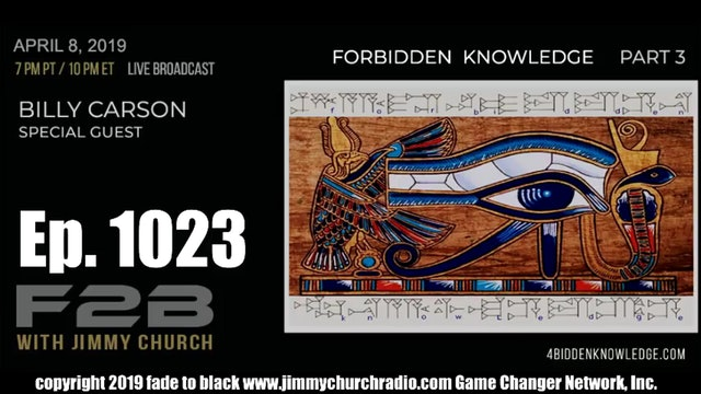 Ep. 1023 FADE to BLACK Jimmy Church w  Billy Carson P3   Time is an Illusion