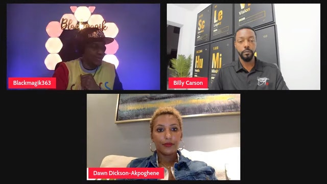 Billy Carson & Dawn Dickson-Akpoghene- How To Raise Millions of Dollars