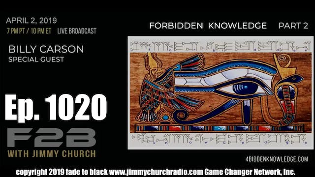 Ep. 1020 FADE to BLACK Jimmy Church w...