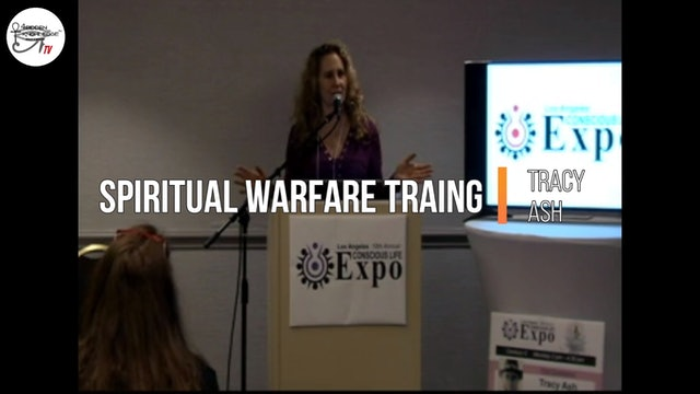 EXPO 2020 - Spiritual Warfare Training - Tracy Ash - Part 1