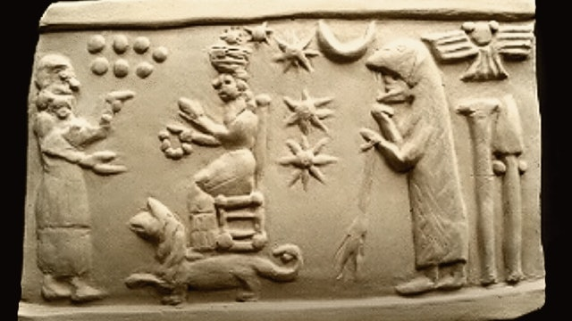 sumerian-seal-artifact-replica-orion-pleiades.