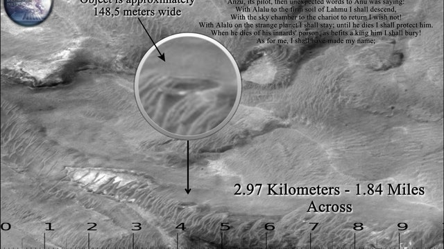 "A ""UFO"" Shaped Anomaly revealed on Satellite image M1800558"