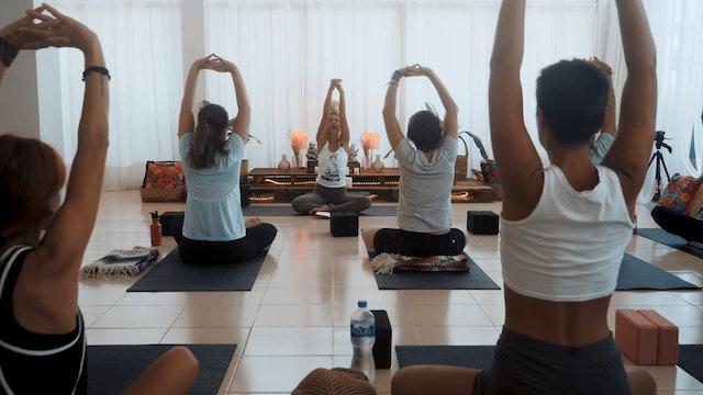 Aligned Flow with Dee Ortalan, Yoga Dicha, Tulum Mexico