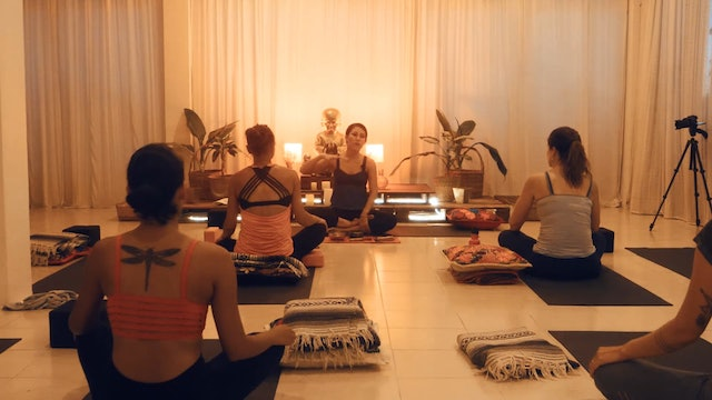 Yin & Restorative with  Adriana Sanroman