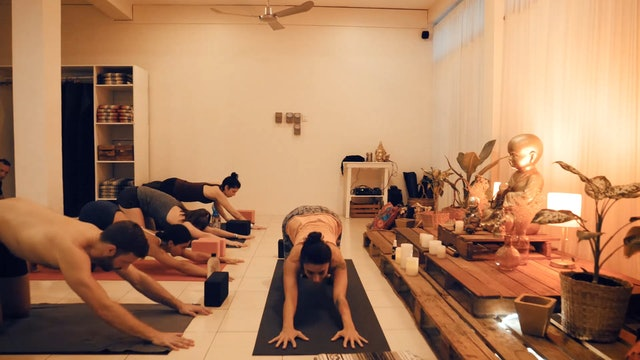 Power Flow with Mariana Borbolla Yoga Dicha Tulum Mexico