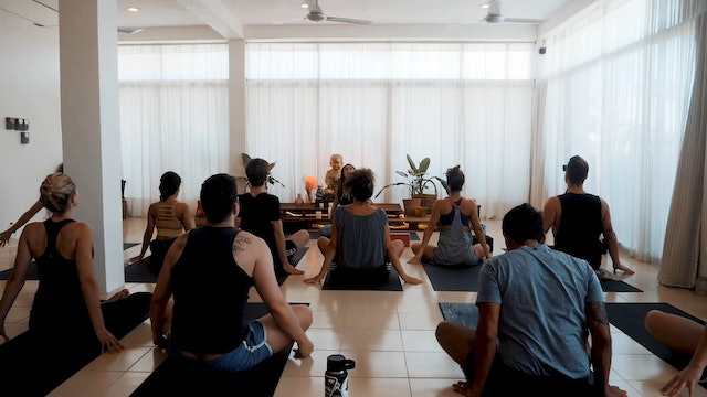 Vinyasa Flow with Marianna Yoga Dicha Tulum Mexico
