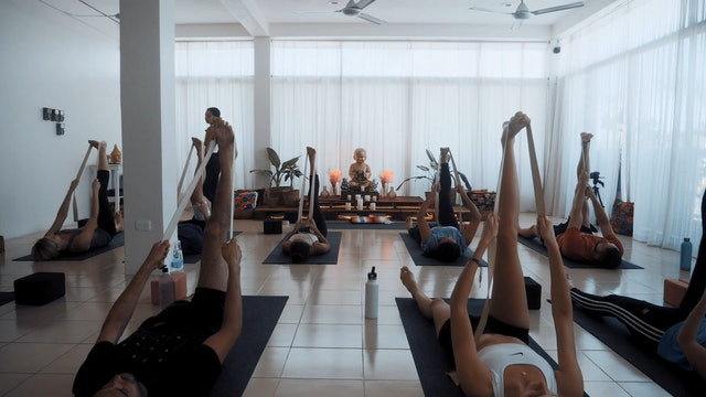 Aligned Flow with Dee Ortalan Yoga Dicha Tulum Mexico