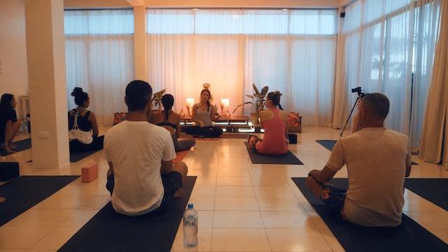 Progressive Vinyasa Flow with Adriana Sanroman Yoga Dicha Tulum