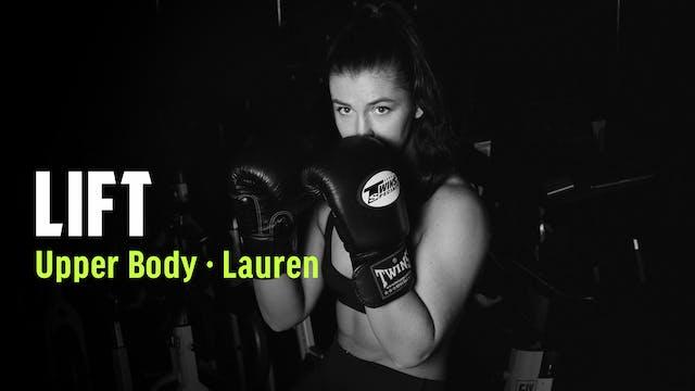 LAUREN 03 | UPPER BODY