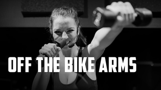 OFF THE BIKE ARMS