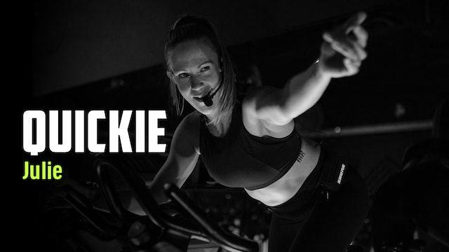 JULIE 20 | QUICKIE - BEST of 2020 + Weights