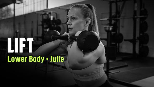 JULIE 11 | LOWER BODY