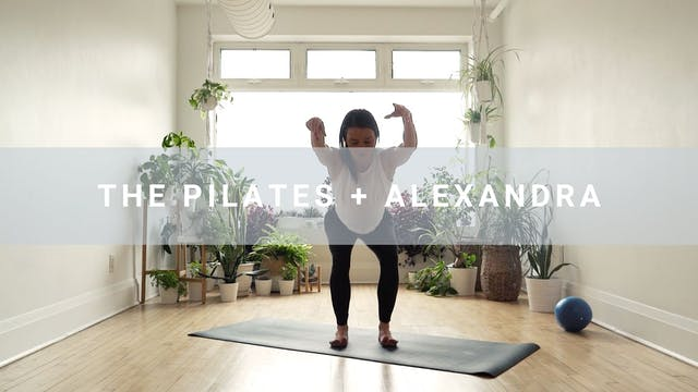 The Pilates + Alexandra (55 min)
