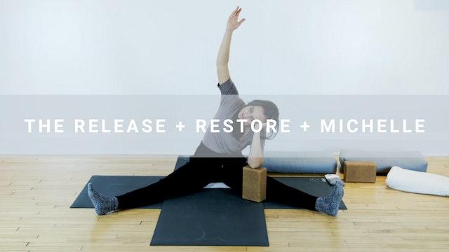 The Release + Restore + Michelle (76 min)