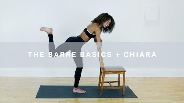 The Barre Basics + Chiara (30 min)