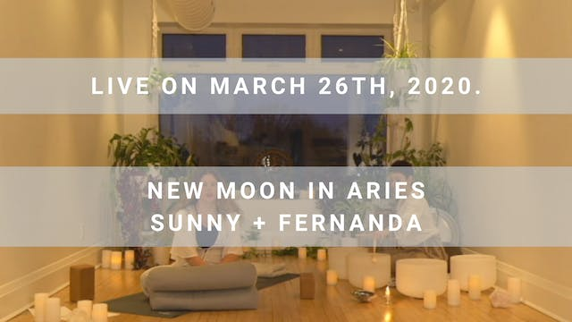 New Moon in Aries (120 min)