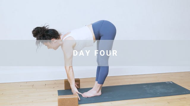 Day Four: Purify - The Flow