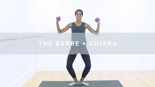 The Barre + Chiara (50 min)