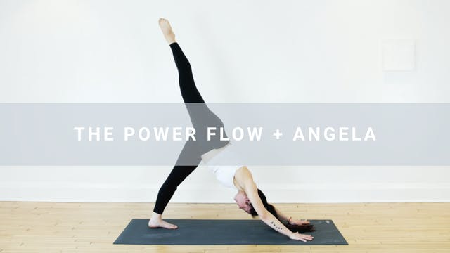 The Power Flow + Angela (51 min)
