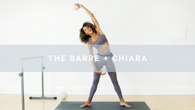 The Barre + Chiara (45 min)
