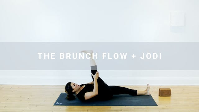 The Brunch Flow + Jodi (76 min)