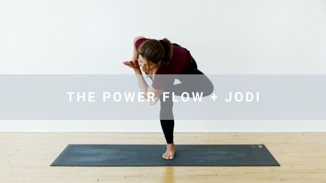 The Power Flow + Jodi (59 min)