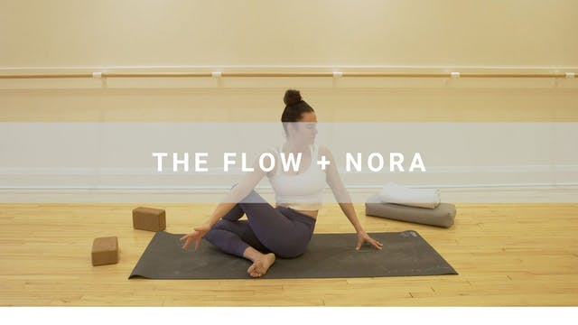The Flow + Nora Debora (60 min)