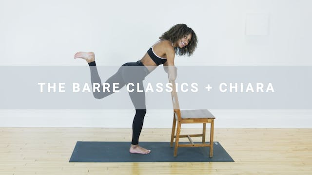 The Barre Basics + Chiara (31 min)