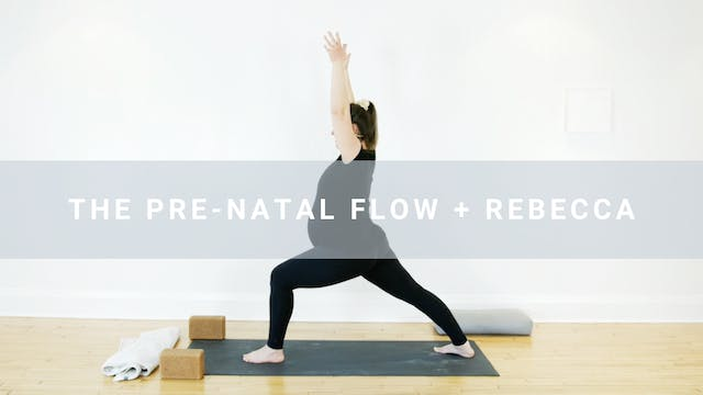 The Prenatal Flow + Rebecca (30 min)