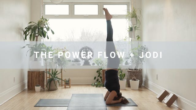 The Power Flow + Jodi (61 min)