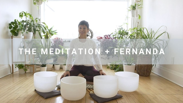 The Meditation + Fernanda  (47 min)