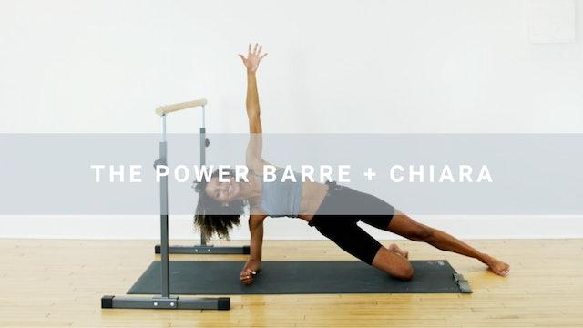 The Power Barre + Chiara (30 min)