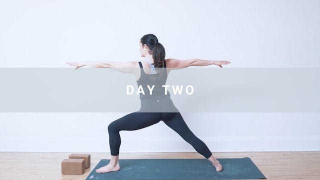 Day Two: Revive - The Flow
