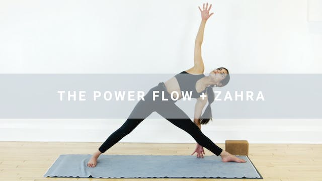The Power Flow + Zahra (31 min)