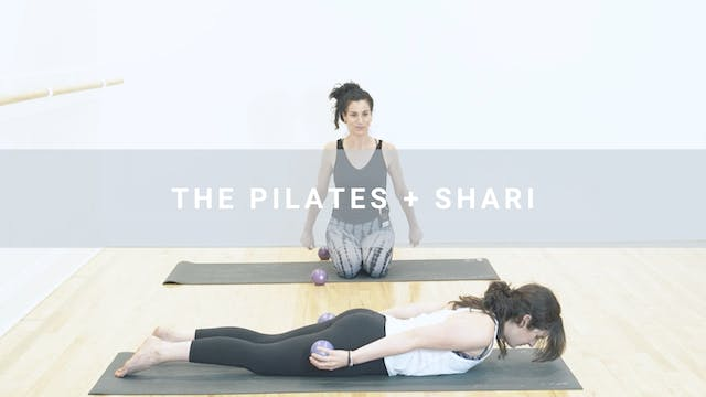 The Pilates + Shari (24 min)