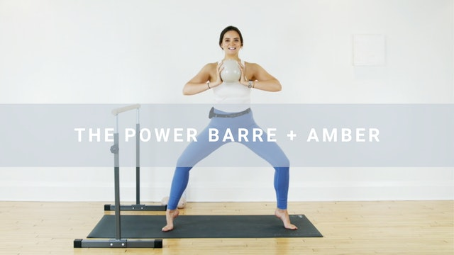 The Power Barre + Amber (40 min)