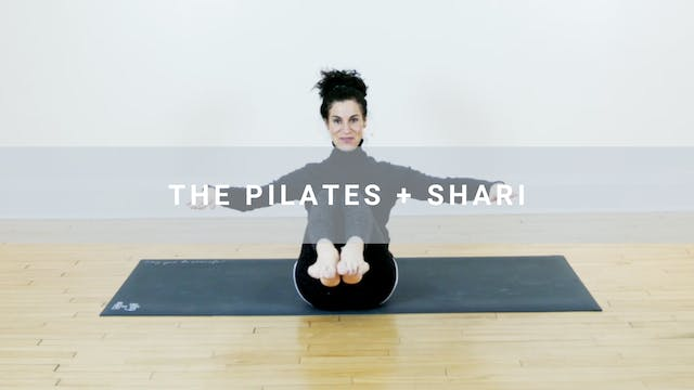 The Pilates + Shari (26 min)
